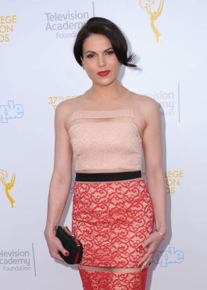 Lana Parrilla - 37th College Television Awards in Los Angeles