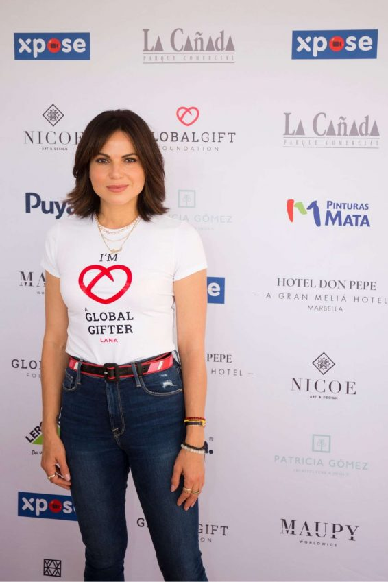 Lana Parrilla - Attends the Casa Global Gift Presentation in Marbella