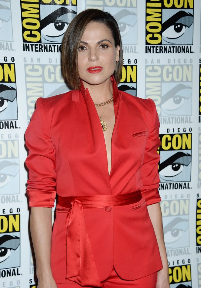 Lana Parrilla - Once Upon A Time Panel at 2017 Comic-Con