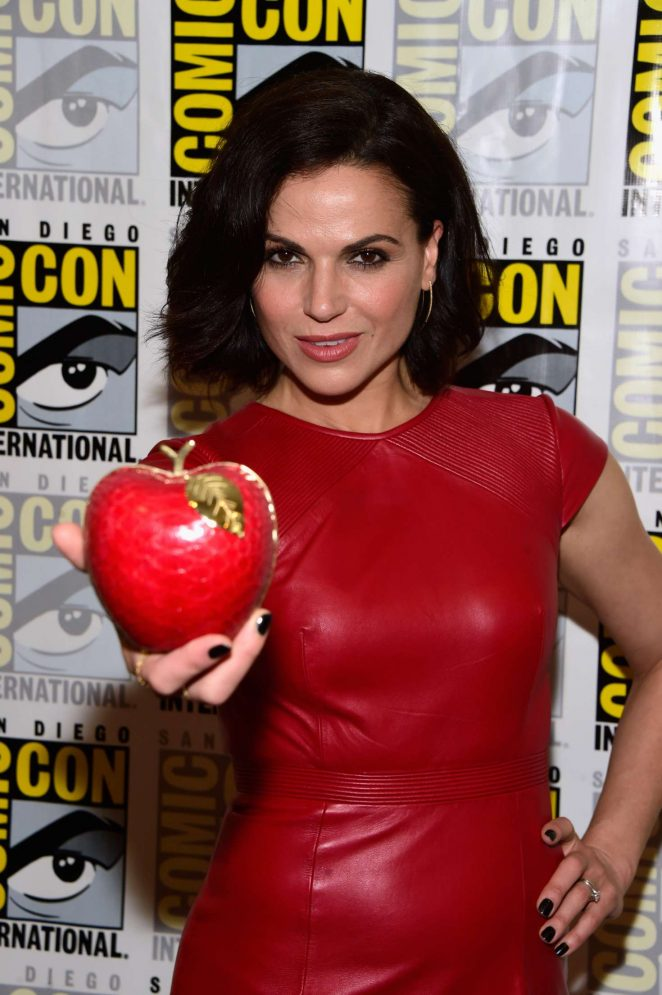 Lana Parrilla - 'Once Upon A Time' Press Line at Comic-Con International in San Diego