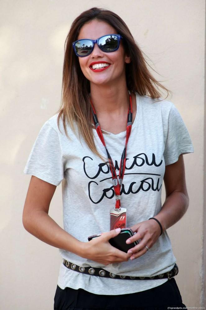 Lara Alvarez - F1 Abu Dhabi Grand Prix 2015 in Abu Dhabi