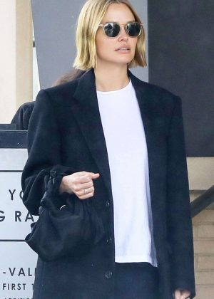 Lara Bingle at Barney's in Beverly Hills