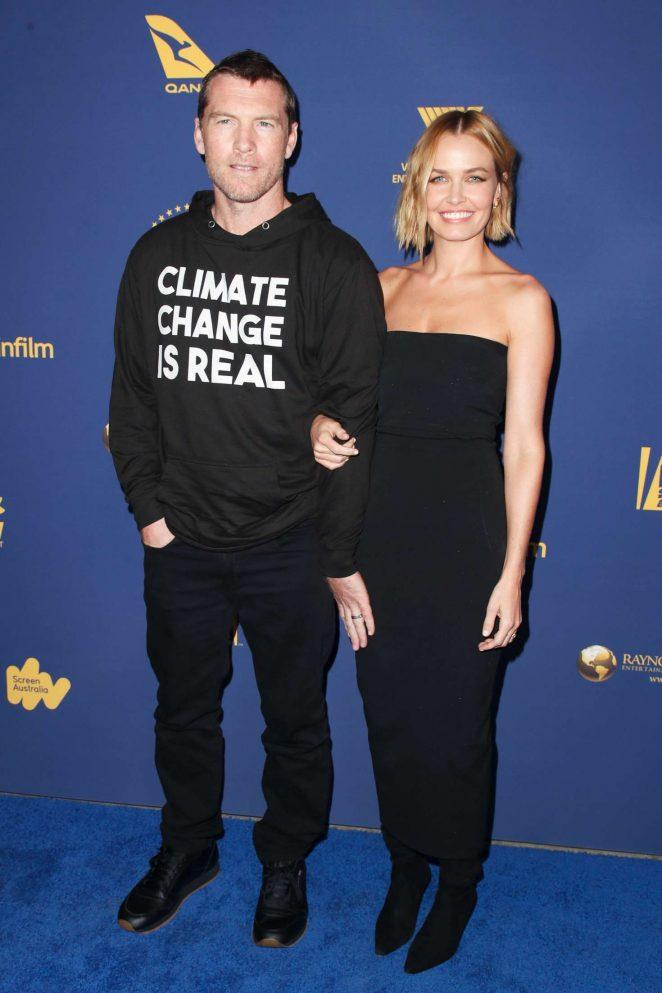 Lara Bingle - Australians in Film Awards 2018 in Los Angeles