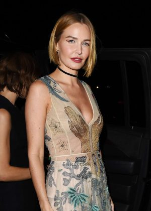 Lara Bingle - Dior Addict Lacquer Pump Launch Party in West Hollywood