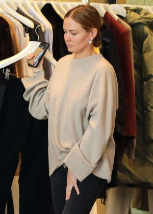 Lara Bingle - Shopping at Celine in Beverly Hills