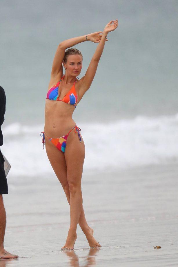 Lara Bingle - Swimwear photo shoot in Sydney