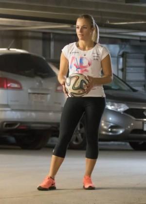 Lara Gut in Leggings -04 - GotCeleb Shakira Instagram