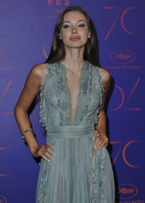 Lara Lieto - 70th Anniversary Dinner at 2017 Cannes Film Festival