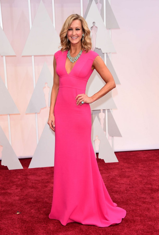 Lara Spencer - 2015 Academy Awards in Hollywood