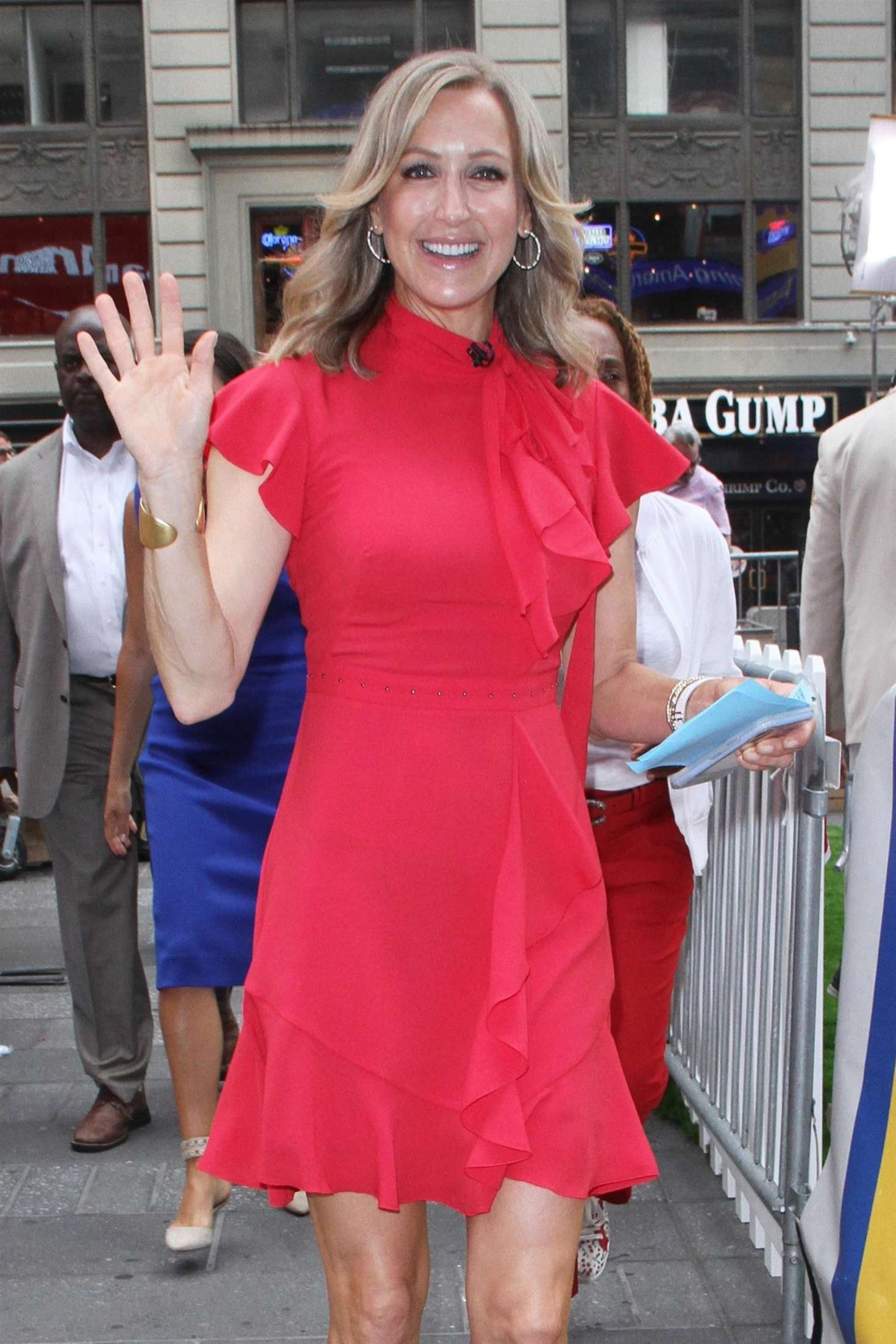 Lara Spencer - 'Good Morning America' in NYC