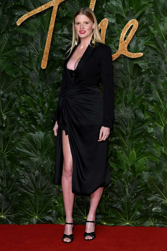 Lara Stone - 2018 British Fashion Awards in London