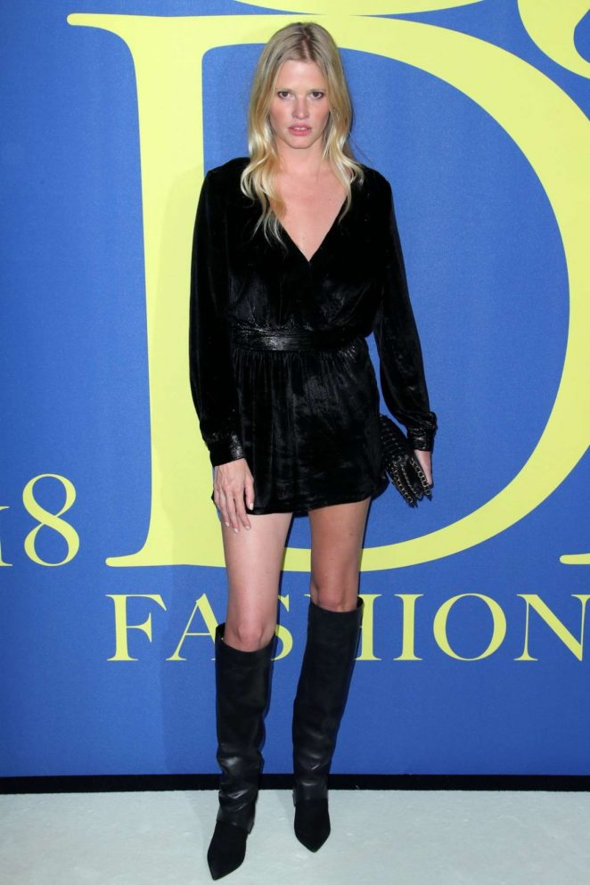 Lara Stone - 2018 CFDA Fashion Awards in Brooklyn