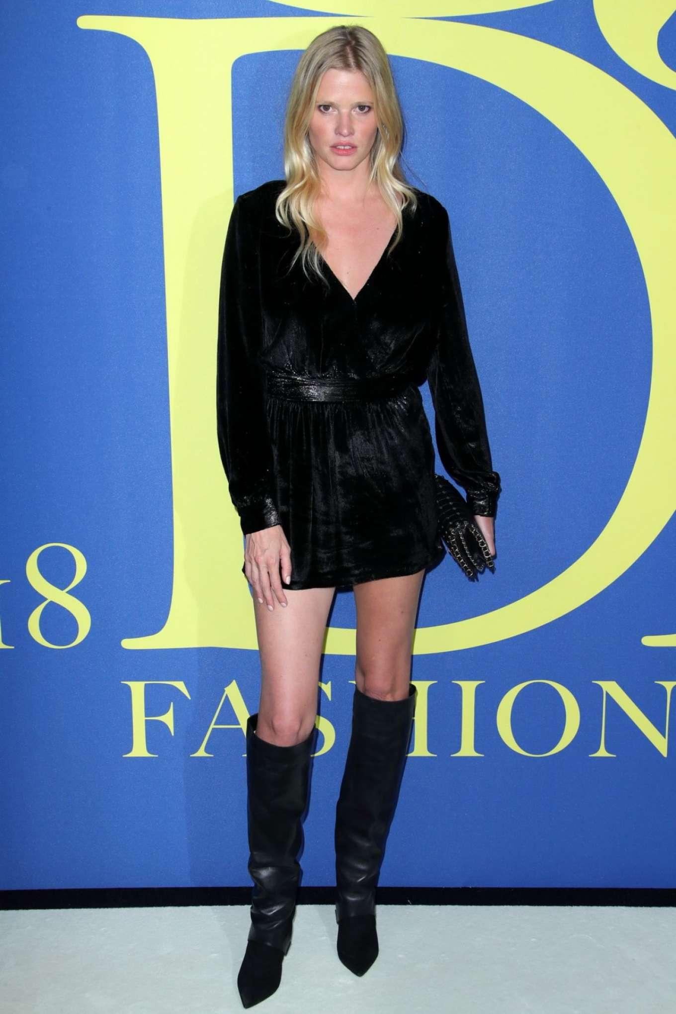 Lara Stone - 2018 CFDA Fashion Awards in Brooklyn
