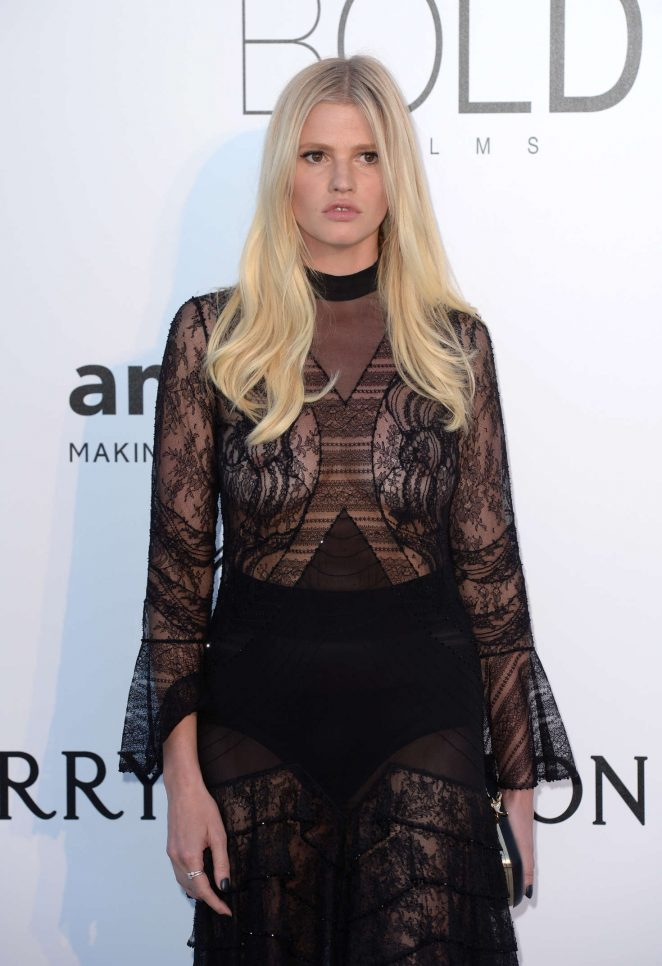 Lara Stone – amfAR's 23rd Cinema Against AIDS Gala in Antibes