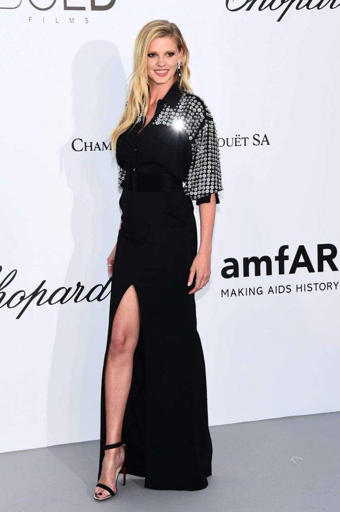 Lara Stone - Amfars 2018 Cinema Against Aids Gala At Cannes