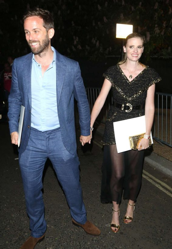 Lara Stone - Arrives at Serpentine Gallery Summer Party in London