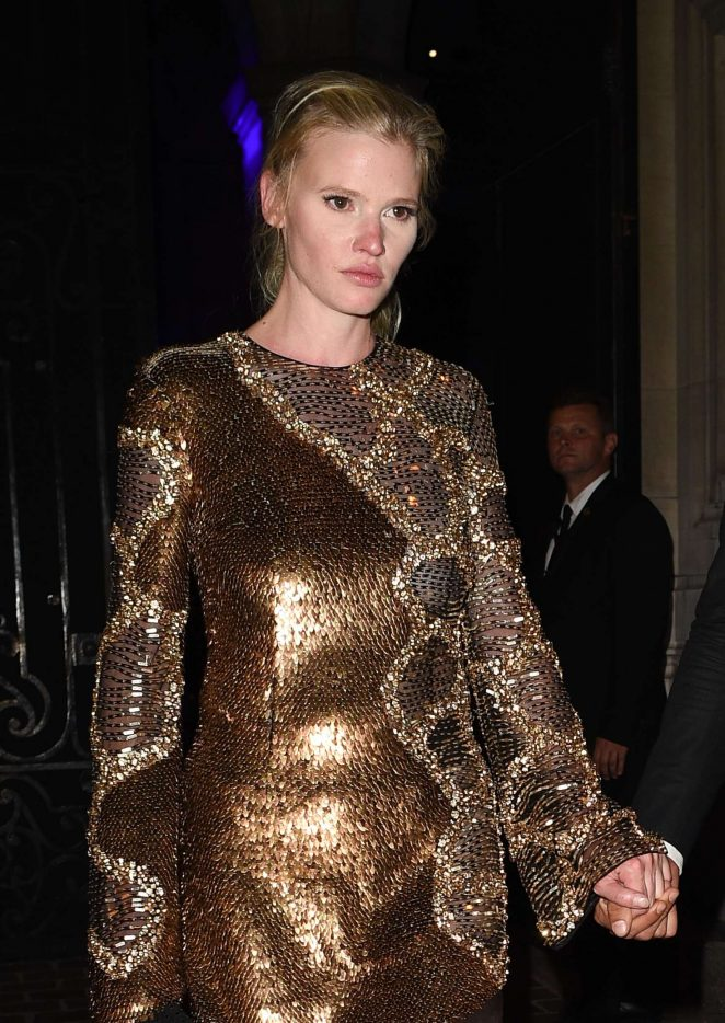 Lara Stone - Attends the Vogue Party 2017 in Paris