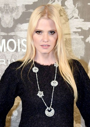 Lara Stone - Chanel Exhibition Party in London