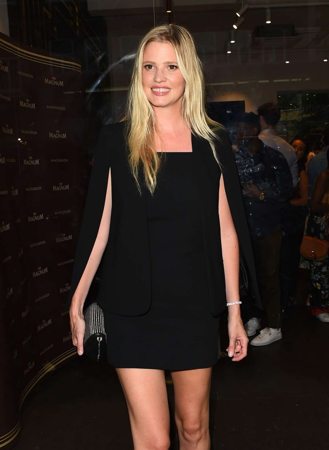 Lara Stone – Magnum VIP Launch Party in London