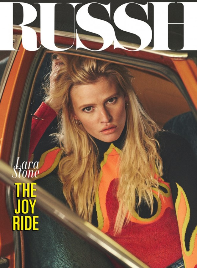 Lara Stone - Russh Magazine (October/November 2015)