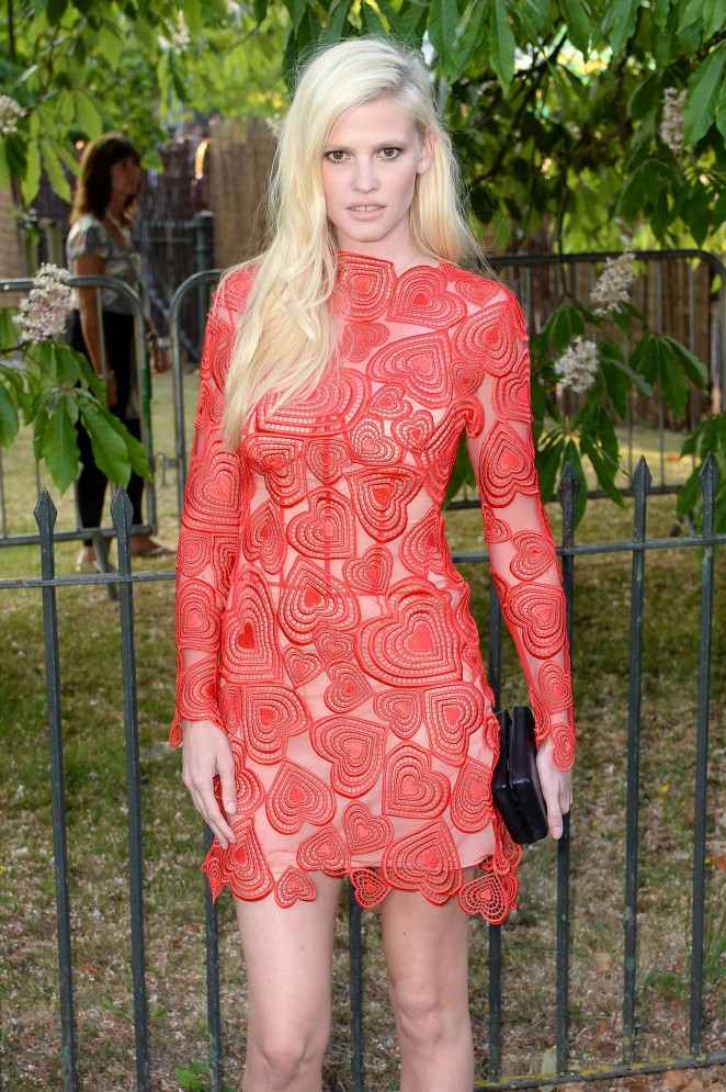 Lara Stone - The Serpentine Gallery Summer Party in London