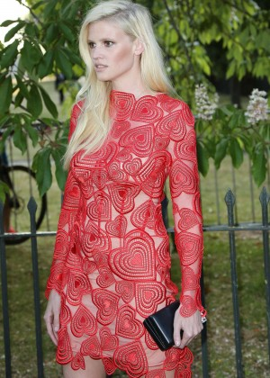 Lara Stone: The Serpentine Gallery Summer Party -06