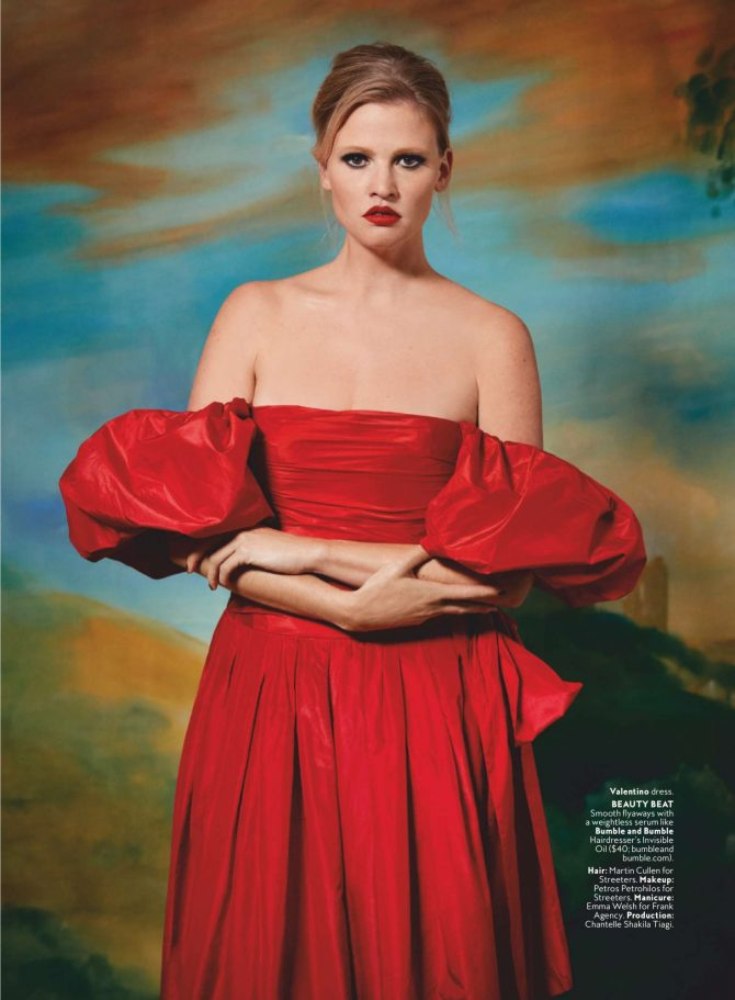 Lara Stone - US InStyle Magazine (March 2019)