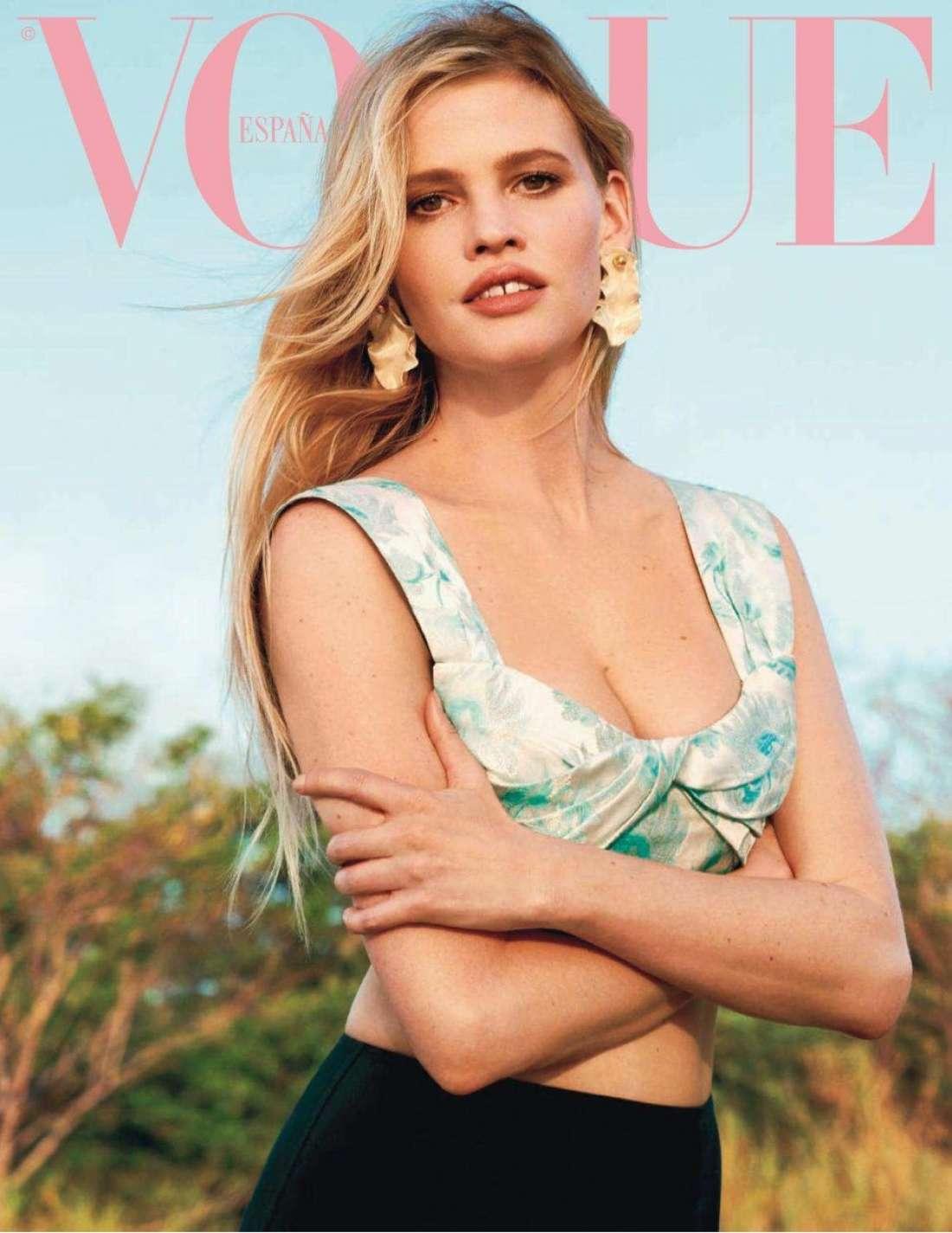Lara Stone 2018 : Lara Stone: Vogue Spain 2018 -13