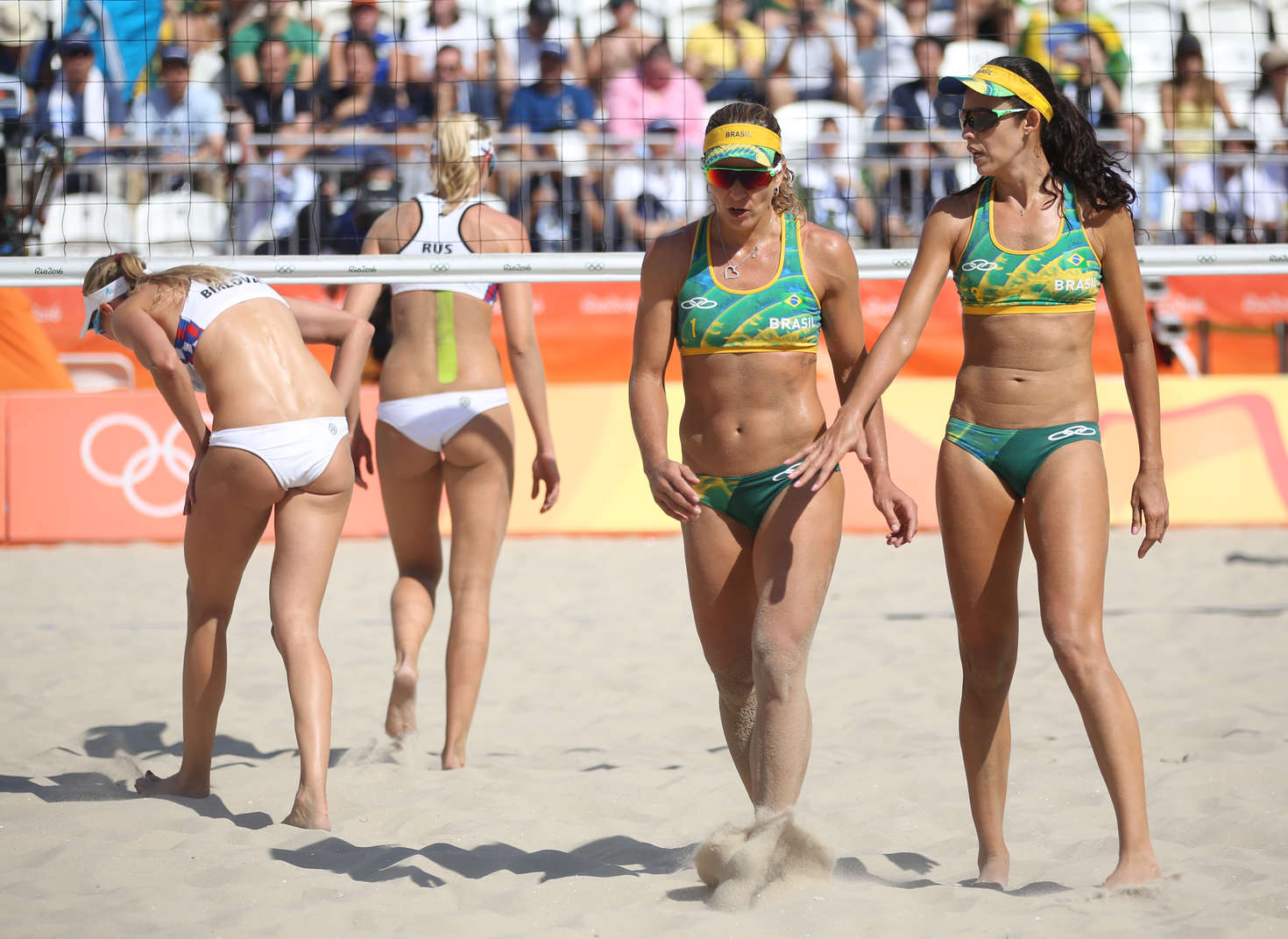Brazil beach volleyball