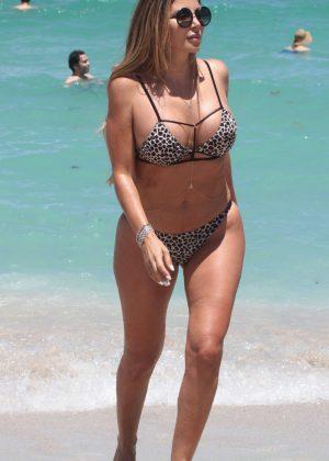 Larsa Pippen In Bikini At A Beach In Miami Gotceleb