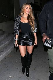 Larsa Pippen - Leaving dinner at 'Catch' Restaurant in West Hollywood