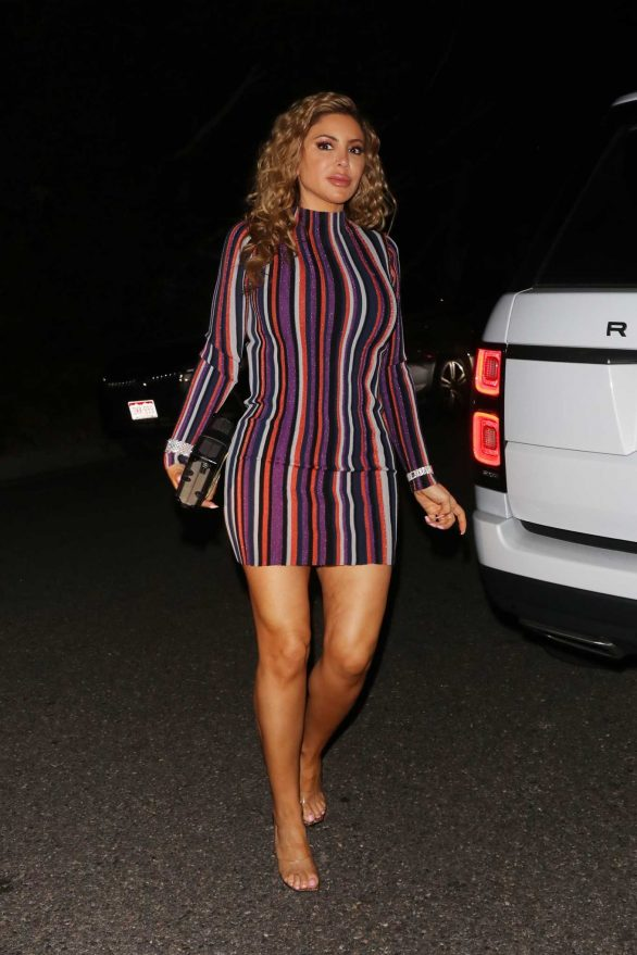 Larsa Pippen - Seen at Paris Hilton's house to celebrate her 39th birthday party in Los Angeles