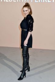 Larsen Thompson - Alberta Ferretti show - Fall Winter 2019 at Milan Fashion Week 2019