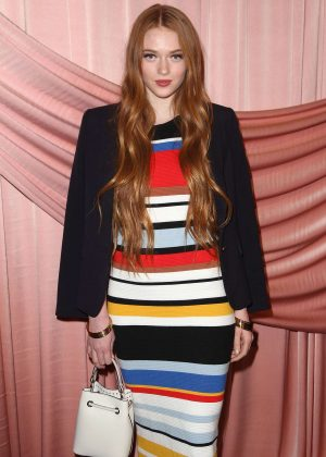 Larsen Thompson - alice + olivia by Stacey Bendet Show at 2017 NYFW in New York