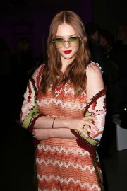 Larsen Thompson - Anna Sui show at 2020 New York Fashion Week