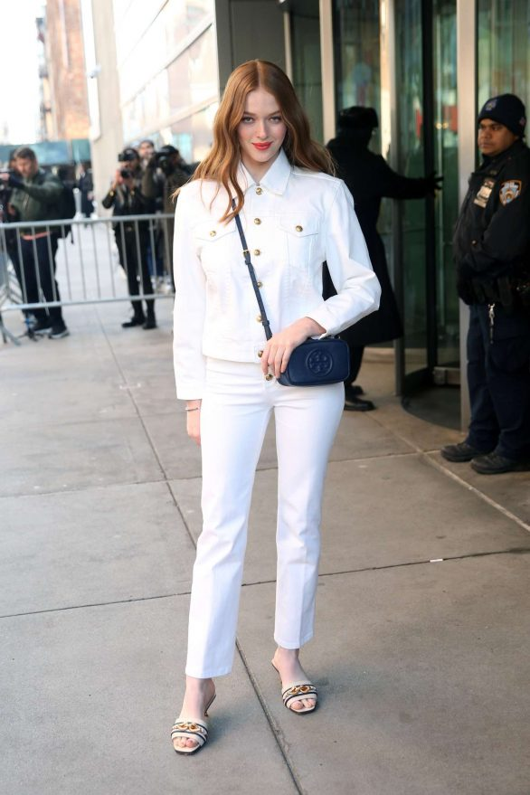 Larsen Thompson - Attends at Tory Burch Show 2020 in New York