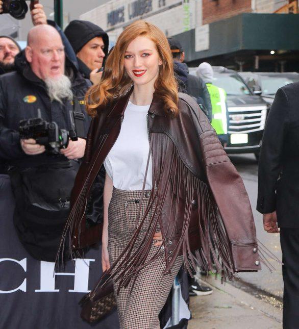 Larsen Thompson - Coach show on 2020 New York Fashion Week
