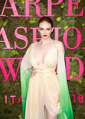 Larsen Thompson - Green Carpet Fashion Awards 2018 in Milan