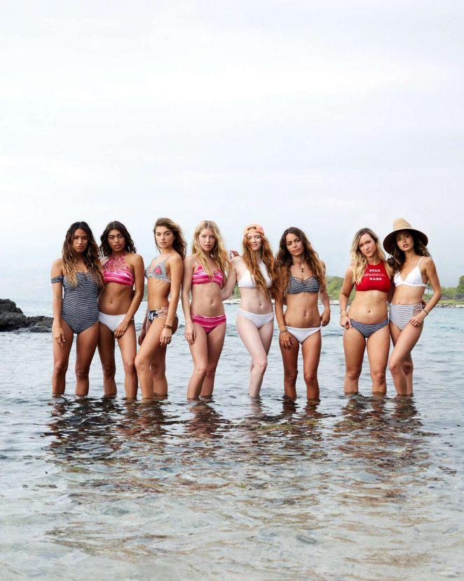 3102d5936a Larsen Thompson – Hollister Swimwear Summer 2017 | GotCeleb