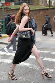Larsen Thompson - Michael Kors show at New York Fashion Week 2020