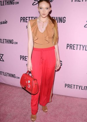 Larsen Thompson - PrettyLittleThing x Stassie Launch Party in LA