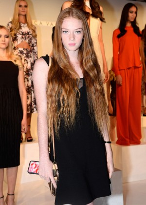 Larsen Thompson - Rebecca Vallance Presentation at Spring 2016 NY Fashion Week