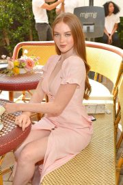 Larsen Thompson - Talita von Furstenberg in celebrating her first collection for DVF in Hollywood