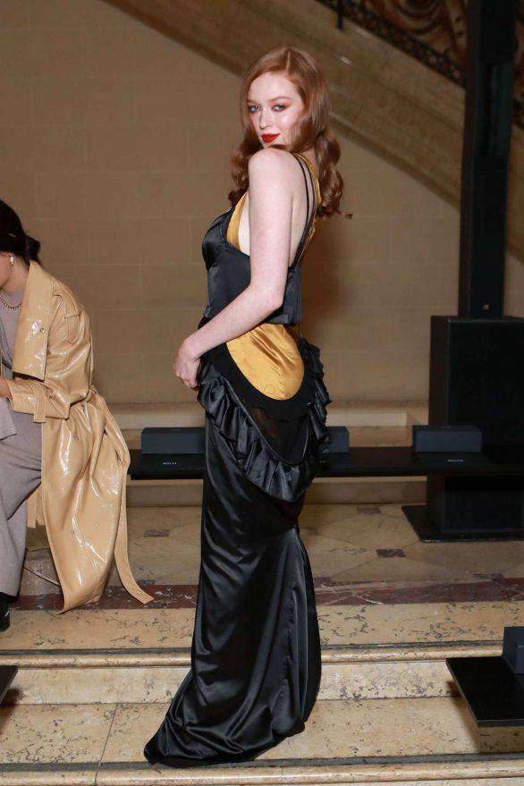 Larsen Thompson - Vera Wang show at 2020 New York Fashion Week