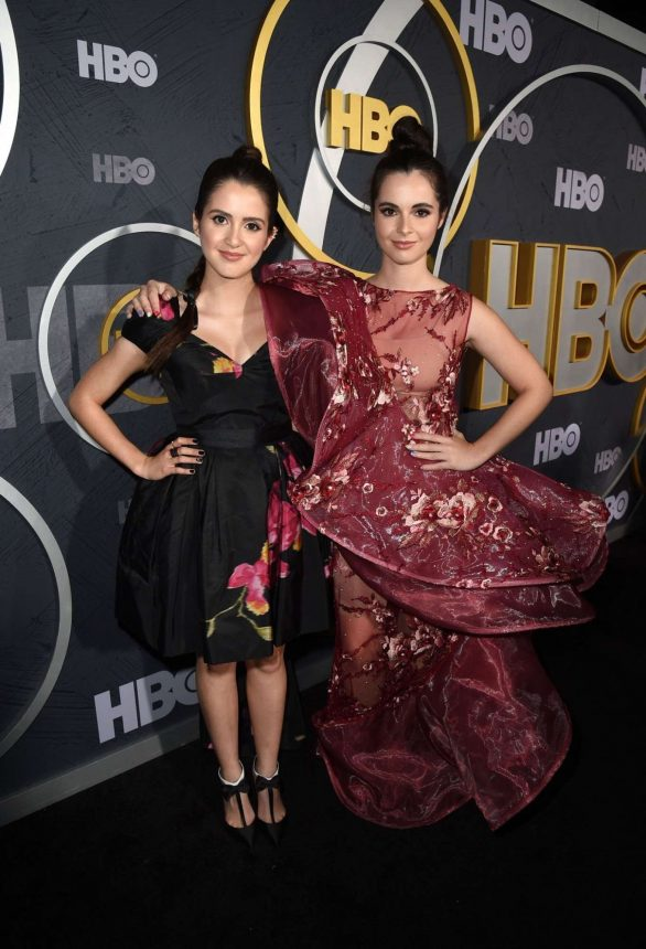 Laura and Vanessa Marano - HBO Primetime Emmy Awards Afterparty in Los Angeles