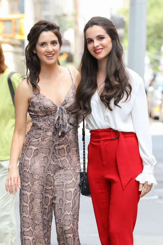 Laura and Vanessa Marano - Out in New York