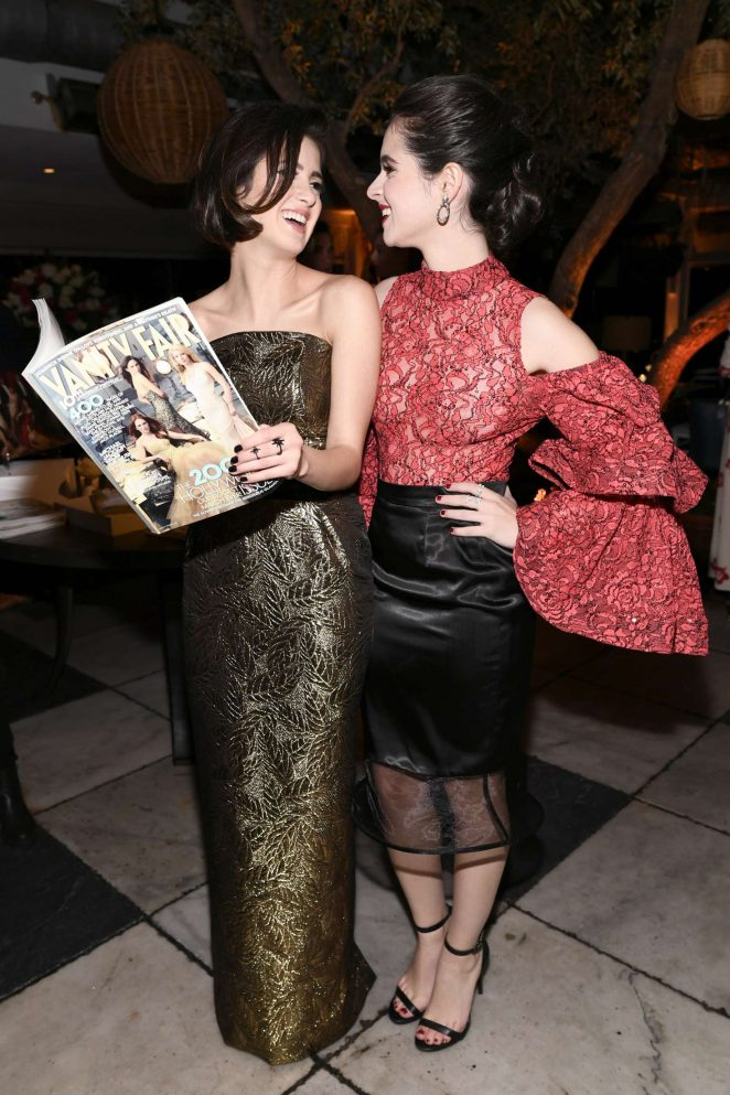 Laura and Vanessa Marano - Vanity Fair and Lancome Paris Toast Women in Hollywood in LA