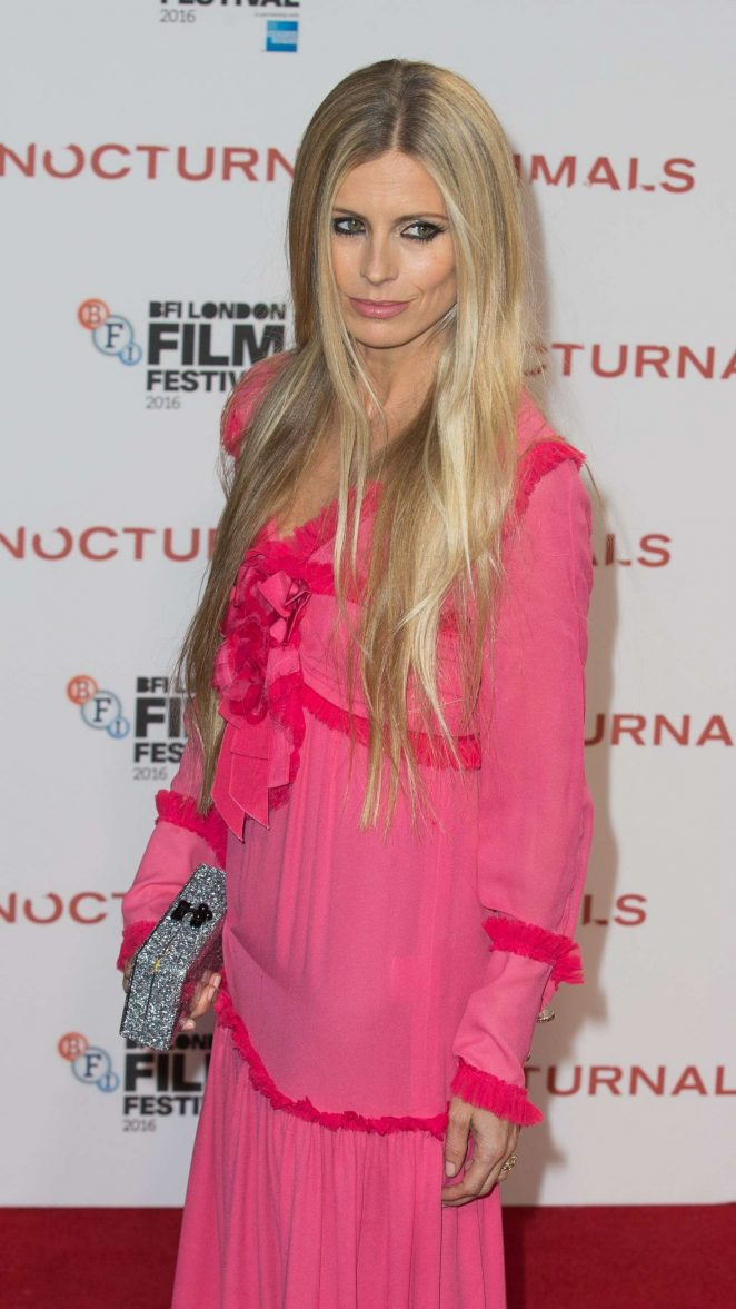Laura Bailey - 'Nocturnal Animals' Premiere in London