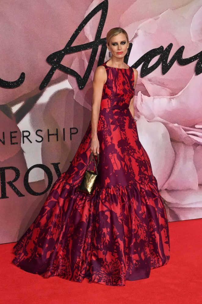 Laura Bailey - The Fashion Awards 2016 in London