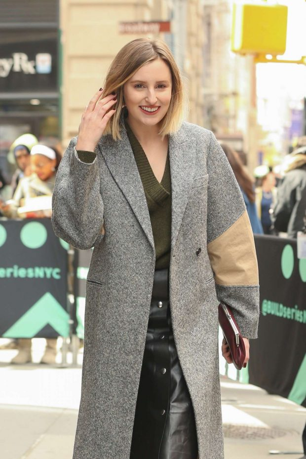 Laura Carmichael at AOL Build Series in New York